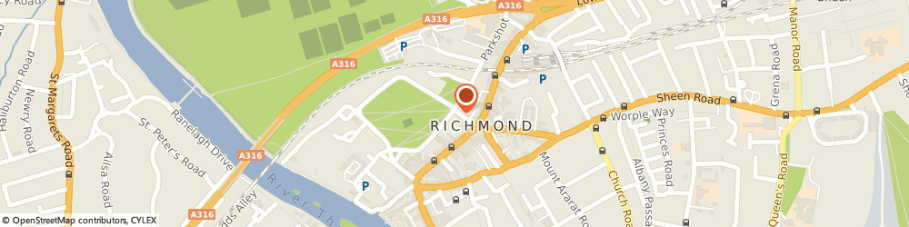 Route/map/directions to Richmond Carpet Cleaners LTD, TW9 1PL Richmond, 1 The Green