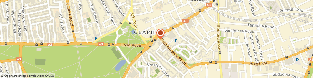 Route/map/directions to Portico, SW4 7AA London, 5 Clapham Common South Side