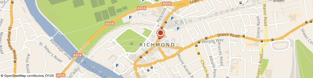 Route/map/directions to Hml Shaw Limited, TW9 1BP Richmond, 9 The Quadrant
