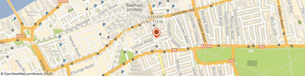 Route/map/directions to BS Social Care London, SW11 1PS London, 64 St Johns Road