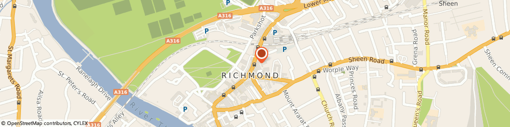 Route/map/directions to A&N Style, TW9 1DN Richmond, 44 The Quadrant