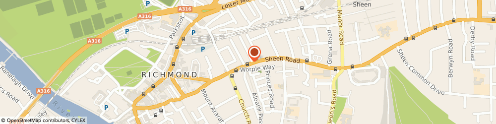 Route/map/directions to Richmond Pharmacy, TW9 1UF Richmond, 82-86 Sheen Road