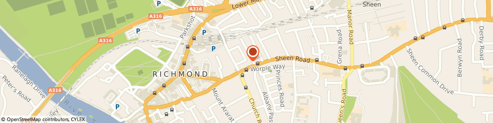Route/map/directions to Marshgate Ltd, TW9 1UB Richmond, 38 Sydney Road