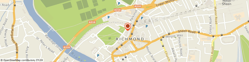 Route/map/directions to Premier Resorts Ltd, TW9 1QH Richmond, 15 LITTLE GREEN
