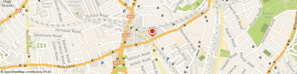 Route/map/directions to Hunky Dory, SW9 8PS London, 2nd Avenue, Market, Brixton Station Rd, Brixton Village