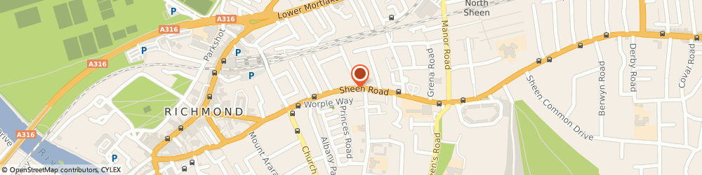 Route/map/directions to Nightingale Chancellors, TW9 1UR Richmond, 132 Sheen Road