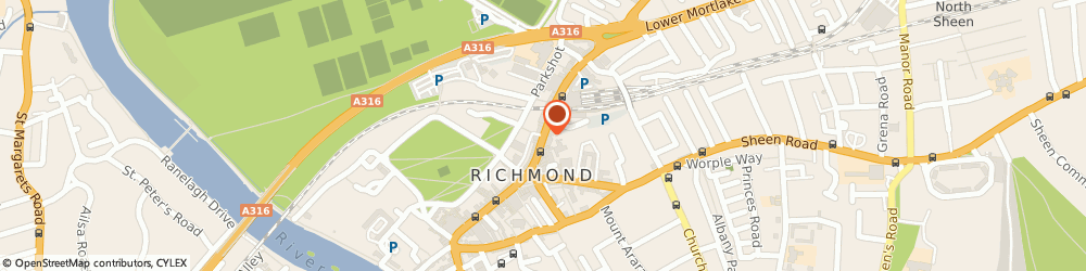 Route/map/directions to Local Locksmith Richmond, tw9 1dn London, 19 The Quadrant