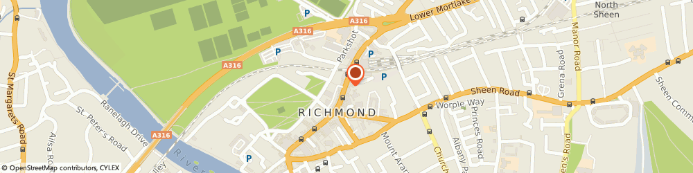 Route/map/directions to Greggs, TW9 1DN Richmond, 35 The Quadrant