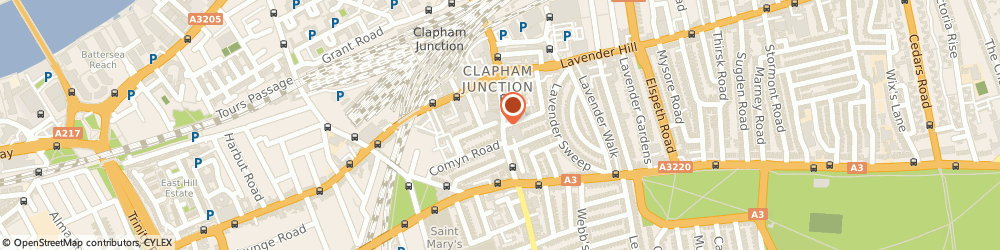 Route/map/directions to Lloyds Bank, SW11 1PR London, 48 - 50 St Johns Road