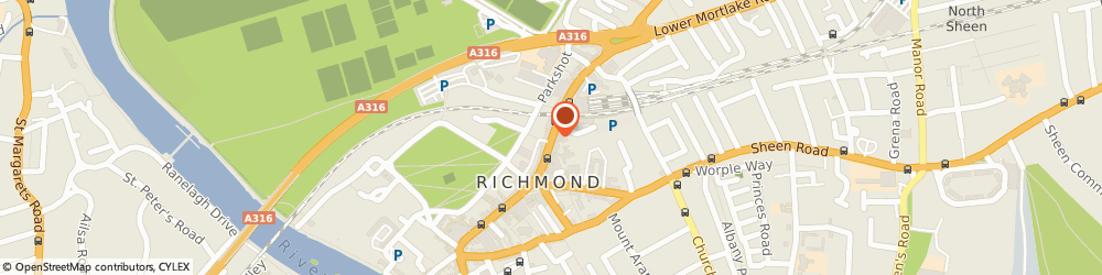 Route/map/directions to Eclipse Business Consulting, TW9 1BP Richmond, 22 The Quadrant