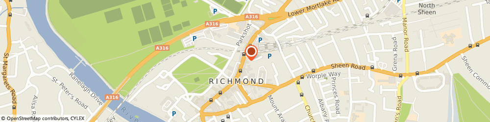 Route/map/directions to Don Fernando Restaurant, TW9 1DN Richmond, 27F The Quadrant