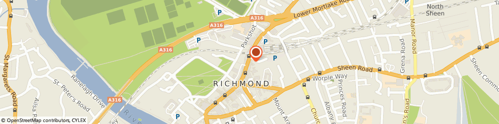 Route/map/directions to Timpson, TW9 1DN Richmond, SNAPPY SNAPS 40 THE QUADRANT HOUSE THE QUADRANT