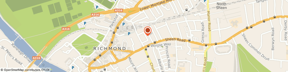 Route/map/directions to A Macpherson, TW9 1UB Richmond, 23A, Sydney Road