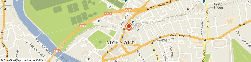 Route/map/directions to Reed Exhibition's Ltd, TW9 1DN Richmond, Gateway House, 28 The Quadrant