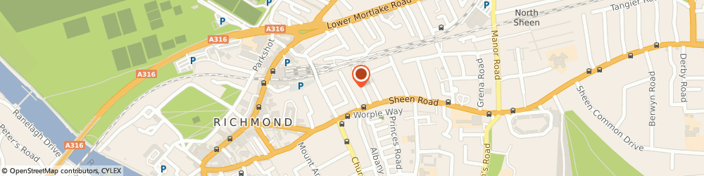 Route/map/directions to Richmond Childcare, TW9 1UH Richmond, 16 Dunstable Road