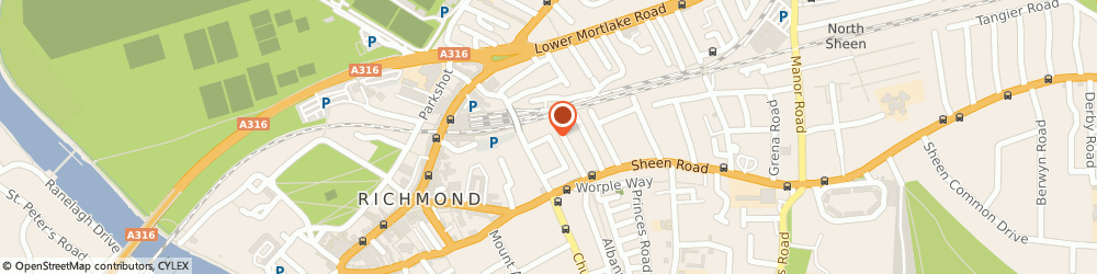 Route/map/directions to Lisa Lewis Interior Design, TW9 1UB Richmond, Sydney Rd