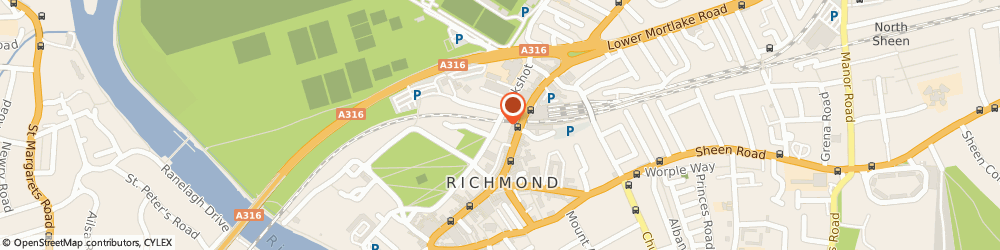 Route/map/directions to Minesoft Ltd, TW9 1QE Richmond, Boston House Little Green