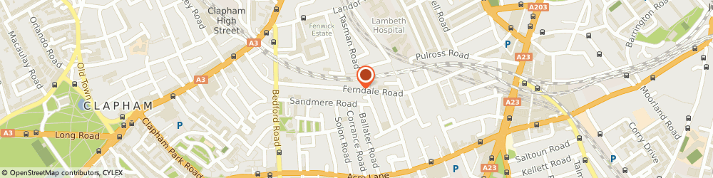 Route/map/directions to Stockwell Locksmiths 020 7060 4182, 24h Locksmith Sw4, SW4 7SD London, Ferndale Road