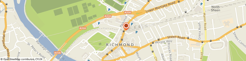 Route/map/directions to Specsavers Hearing Centre, London - Richmond, TW9 1DJ Richmond, The Quadrant