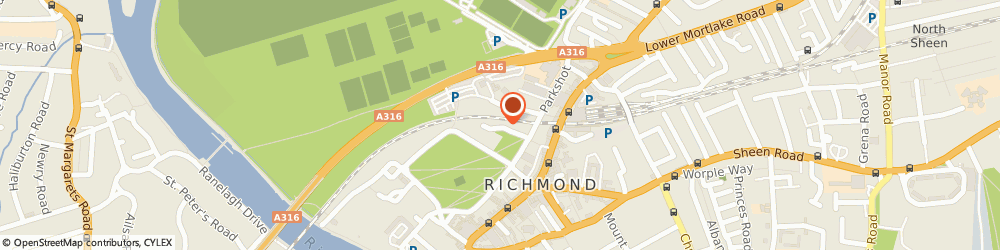 Route/map/directions to Biomass Energy Trade Association, TW9 1QW Richmond, 17 FITZWILLIAM HOUSE, LITTLE GREEN