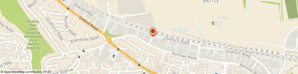 Route/map/directions to 1st Class Cars, RG30 1DZ Reading, 127a Loverock Road
