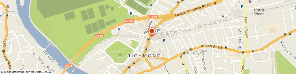 Route/map/directions to Barnard Marcus Estate Agents, TW9 1DL Richmond, Oriel House 26 The Quadrant