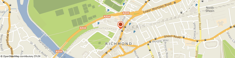 Route/map/directions to Factors & Discounters Association Ltd, TW9 1QE Richmond, 2ND FLOOR, BOSTON HOUSE, THE LITTLE GREEN