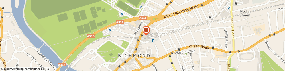 Route/map/directions to Braintree Hotel Limited, TW9 1DT Richmond, 2ND FLOOR DOME BUILDINGS, THE QUADRANT