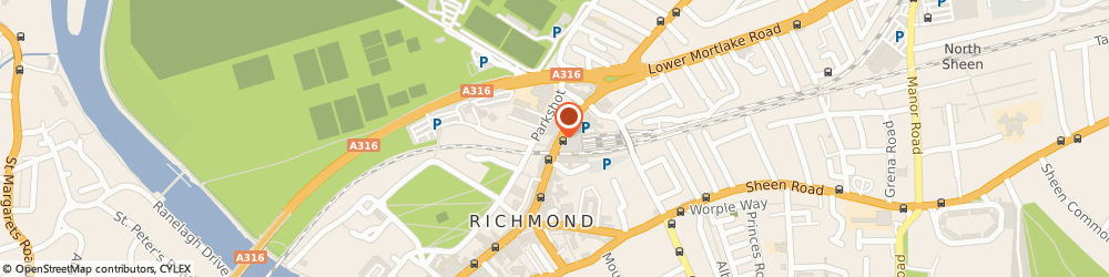 Route/map/directions to Thai Square Restaurant, TW9 2NQ Richmond, 29 Kew Rd