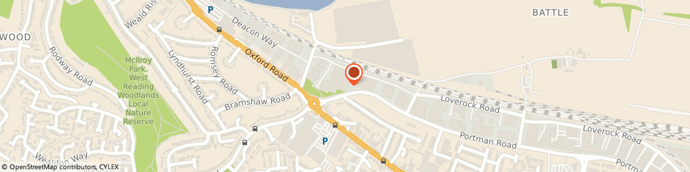 Route/map/directions to Howdens  - Reading, RG30 6BX Reading, Unit 14, Stadium Way