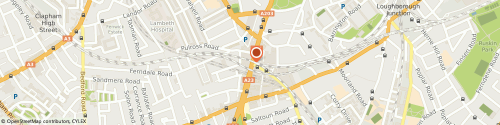 Route/map/directions to M&S Marks and Spencer LONDON, SW9 8ED London, 446 Brixton Road