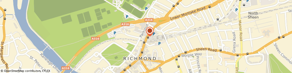 Route/map/directions to One Kew Road, TW9 2NQ Richmond, 1 Kew Road