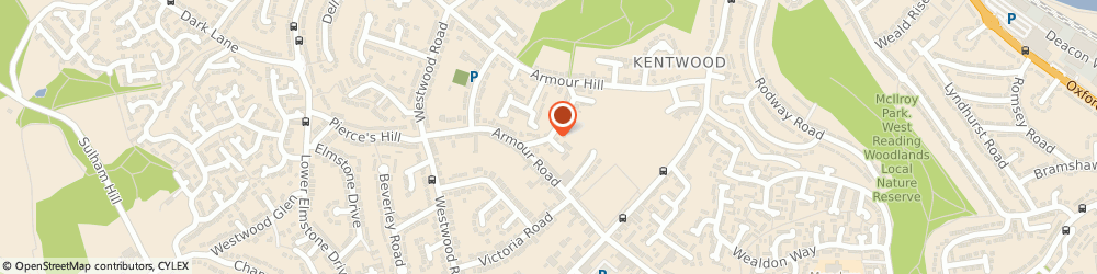 Route/map/directions to Stretched 4 U, RG31 6HH Reading, 5 Lower Armour Rd