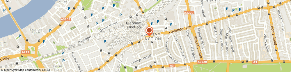 Route/map/directions to Cecil Gee, SW11 1SA London, HEAD OFFICE, 8 ST JOHNS HILL