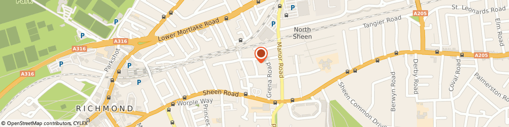 Route/map/directions to Mrs Christine Fuller, TW9 1XW Richmond, 11, ADELAIDE ROAD