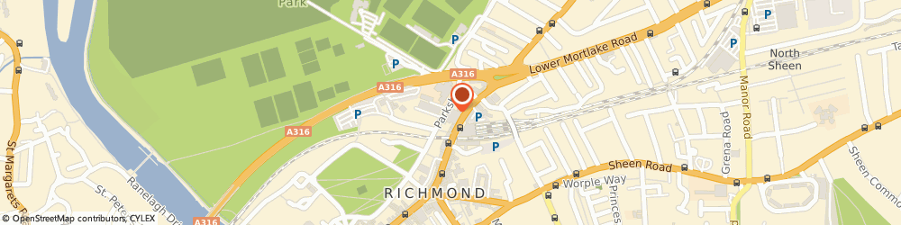 Route/map/directions to YourAnalytix, TW9 2PR Richmond, Parkshot House, 5 Kew Rd