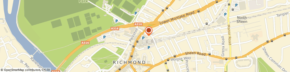 Route/map/directions to Savills Ipswich, TW9 2QE Richmond, 1 Church Road