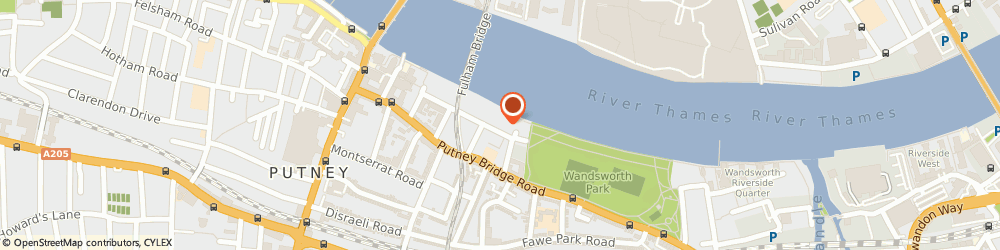 Route/map/directions to Digital Lighthouse, SW15 2NU London, Blades Court, 12 Deodar Rd