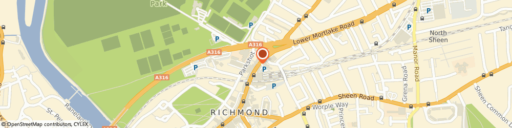 Route/map/directions to Reed Richmond, TW9 2NQ Richmond, 25-27 Kew Road