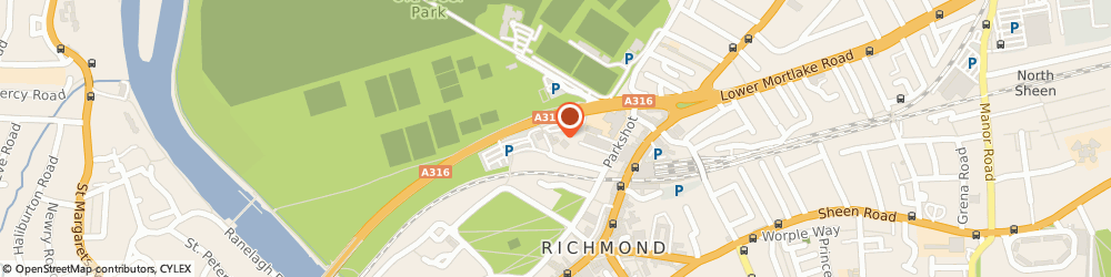 Route/map/directions to Pictologue Limited, TW9 9DN Richmond, PO BOX 880, 163 SHEEN COURT