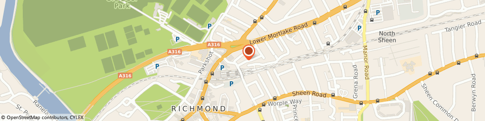 Route/map/directions to Mcdaniel Woolf, TW9 2PF Richmond, 32 Larkfield Rd