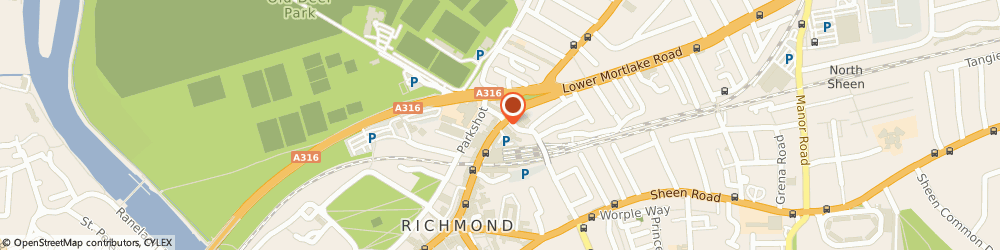 Route/map/directions to Flowers In The Green, TW9 2NQ Richmond, 41 KEW ROAD