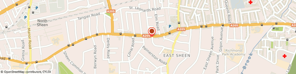 Route/map/directions to finch group LONDON, SW14 7PR London, 457 Upper Richmond Road West