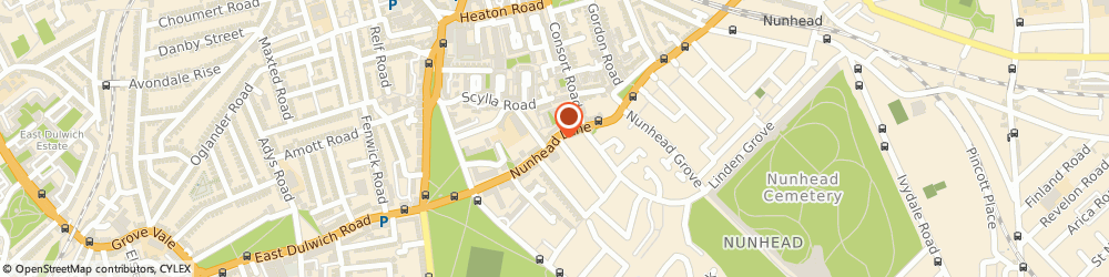 Route/map/directions to Labro Tools & Gas Supply Co, SE15 3TU London, 42 Nunhead Lane