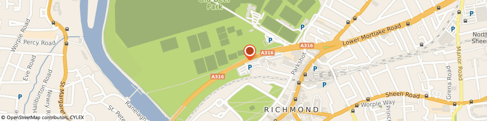 Route/map/directions to Richmond Football Club Limited, TW9 2SF Richmond, Twickenham Road