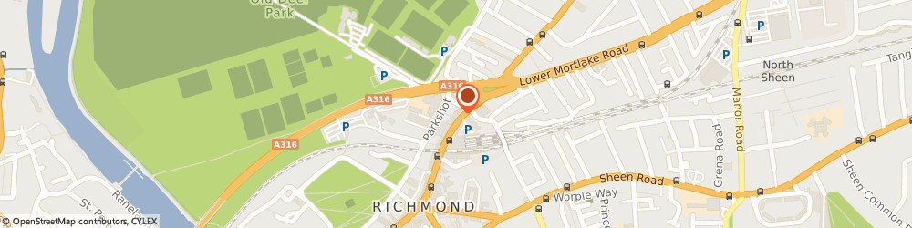Route/map/directions to Carluccio's, TW9 2NQ Richmond, 31-35 Kew Road