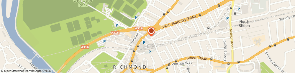 Route/map/directions to Richmond Rail Station, TW9 2NA Richmond, DRUMMONDS PL RICHMOND, GREATER LONDON TW9 155 FT S