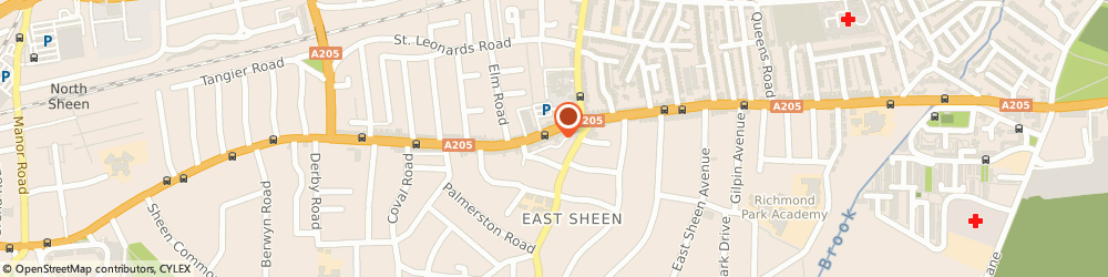 Route/map/directions to Tesco Express, SW14 7NX London, 385-387 Upper Richmond Rd W