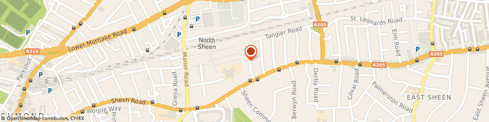 Route/map/directions to Learn Polished Plaster, TW10 5DQ Richmond, 136 SHEEN COURT