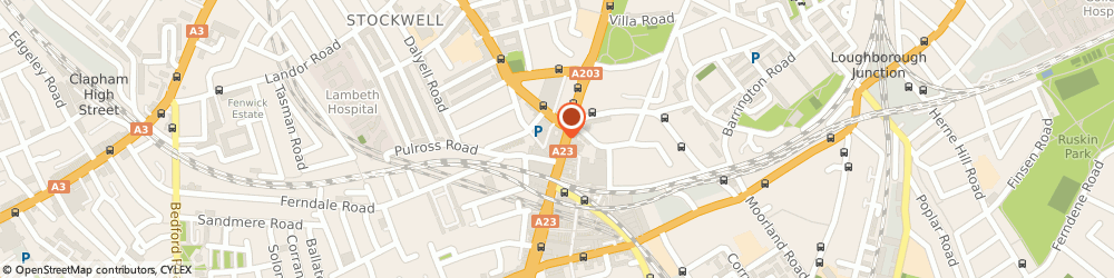 Route/map/directions to Phonox, SW9 7AY London, 418 Brixton Rd